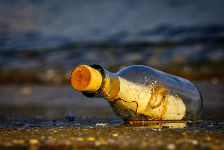 Message in a bottle from introverted people